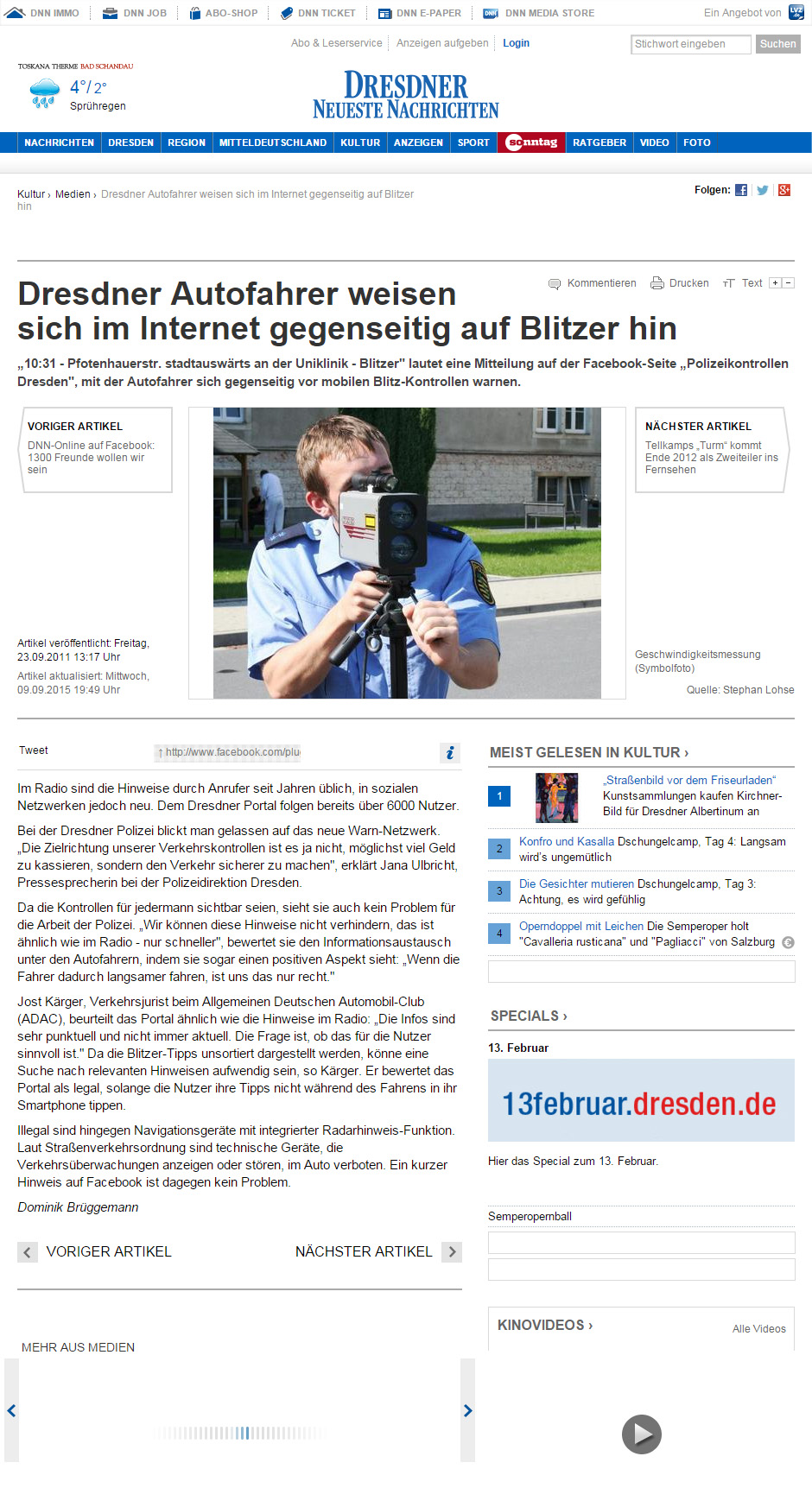 Dresdner Neusten Nachrichten